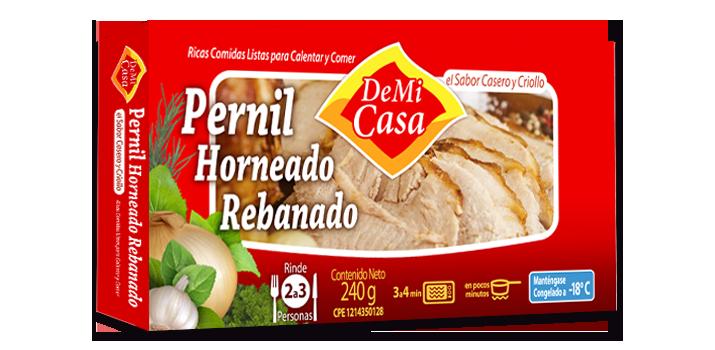 Pernil Horneado Rebanado