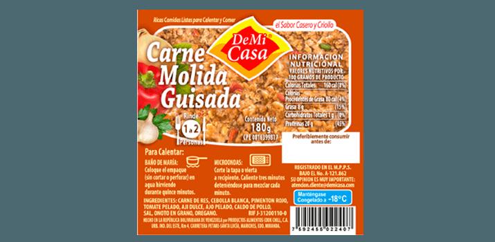 Carne Molida Guisada 180gr