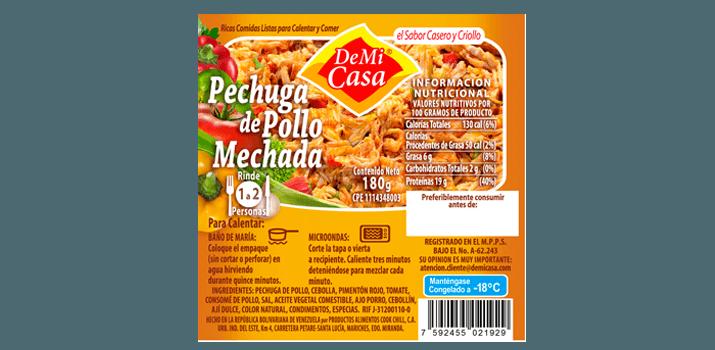 Pechuga de Pollo Mechada
